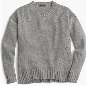 J. Crew Crewneck Tunic Sweater
